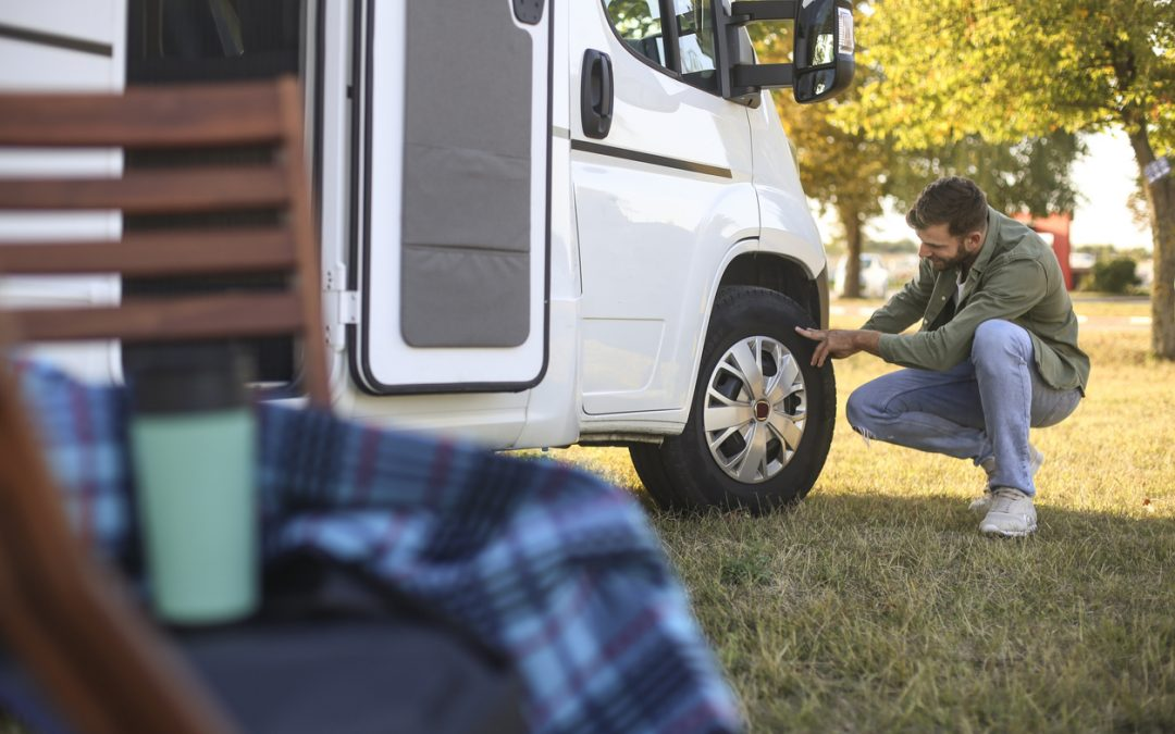 What Do I Do If My RV's Tire Blows Out?