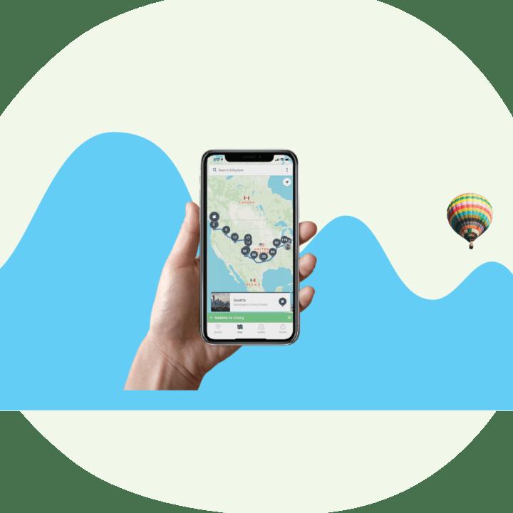 Roadtrippers RV app
