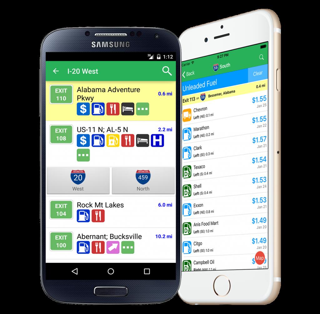 iExit RV app