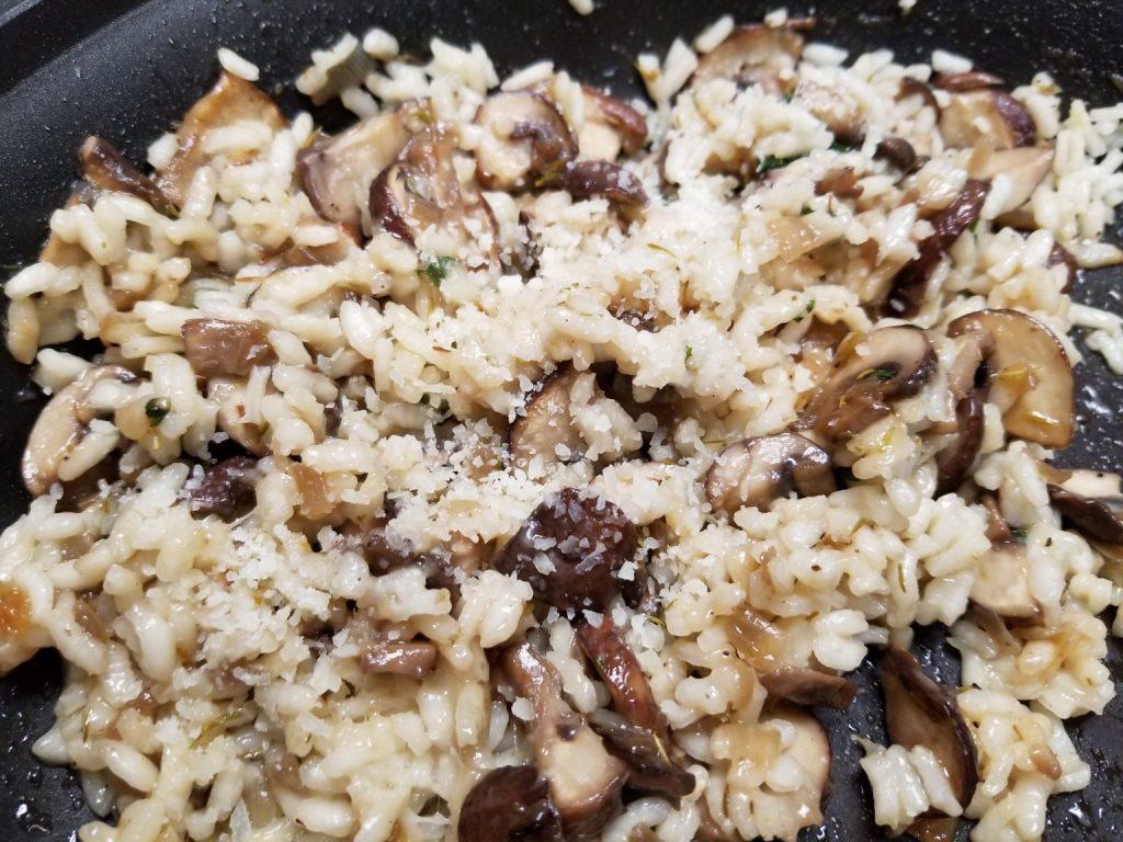 Instant Pot RV Recipes for Mushroom Risotto