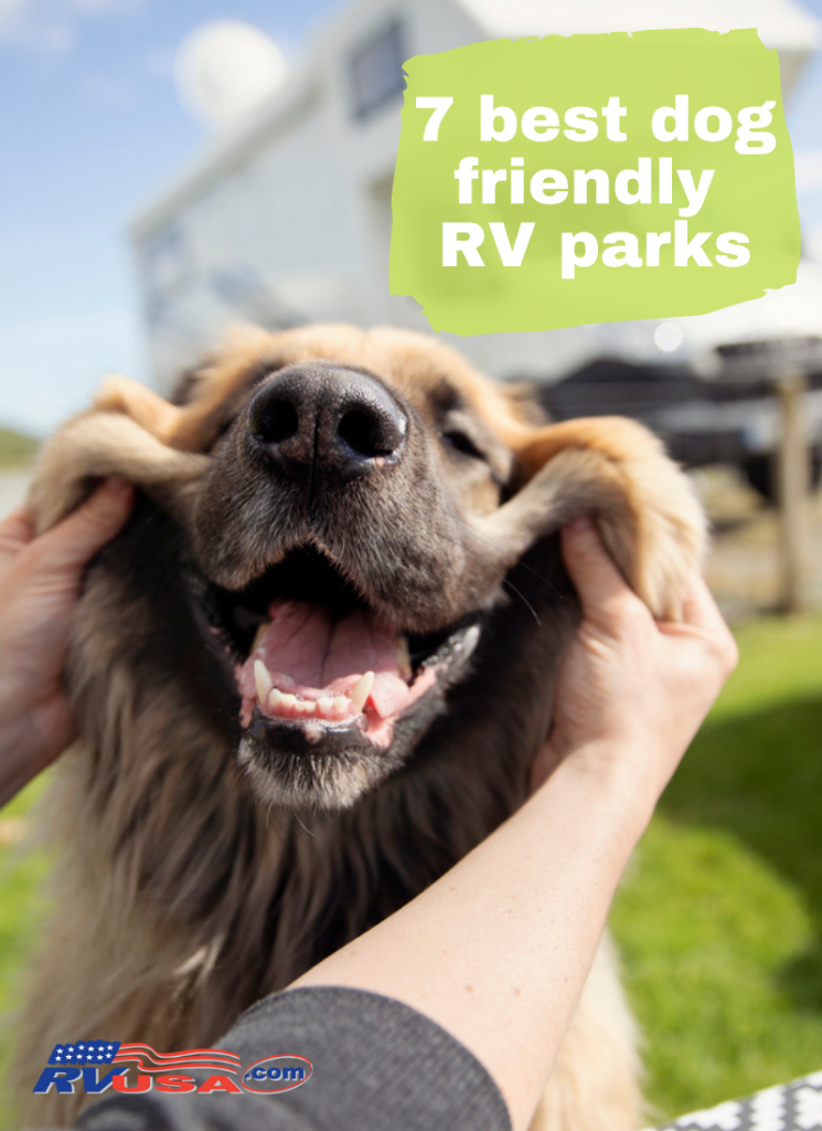 List of the 7 best dog friendly RV parks