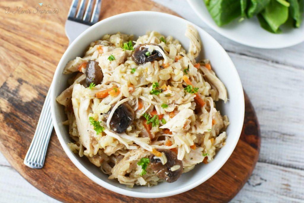 Recipe for Chicken & Rice