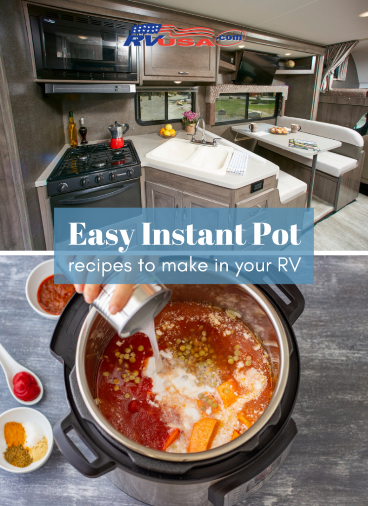 Recipes to make in an Instant Pot in your RV