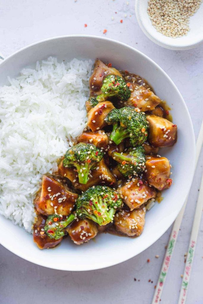 Instant Pot Recipe for Chicken & Broccoli