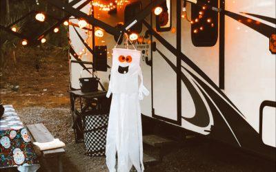 Easy RV Halloween Decorations
